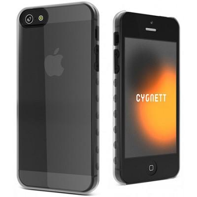 AeroGrip Crystal Clear Ergonomic iPhone 5 Case