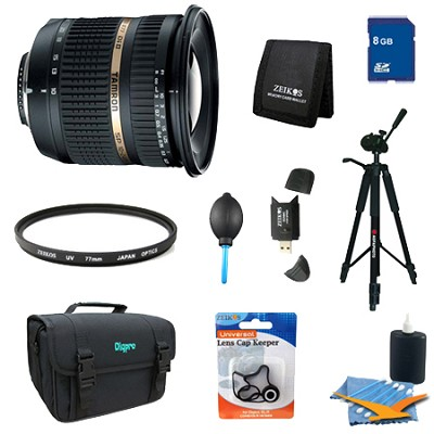 10-24mm F/3.5-4.5 Di II LD SP AF Aspherical (IF) Lens Pro Kit for Canon EOS