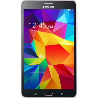 Galaxy Tab 4 Black 8GB 7` Tablet - 1.2 GHz Quad Core Processor
