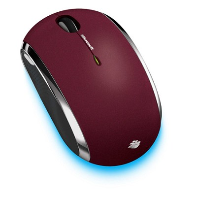 6000 Mouse - Wireless - Radio Frequency - Red