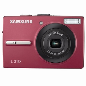 L210 10MP 2.5` LCD Digital Camera (Red)