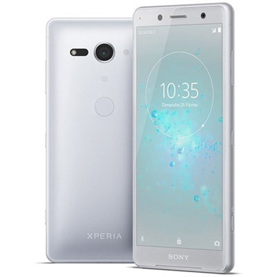 Xperia XZ2 Compact - Unlocked Phone - 5.0` - 64GB - (White Silver) - (1313-7910)