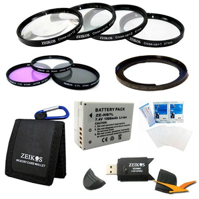 Ultimate Accessory Kit for the Canon Powershot SX30