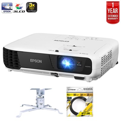 EX5240, XGA, 3200 Lumens 3LCD Projector +Refurbished Extended Warranty Pack