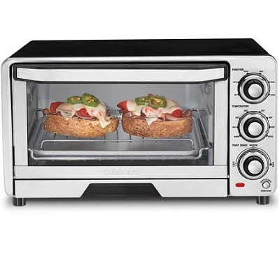 Custom Classic Stainless Steel Toaster Oven Broiler - Factory Refurbished