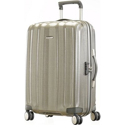 Black Label Cubelite Hardside 20` Champagne Spinner Suitcase