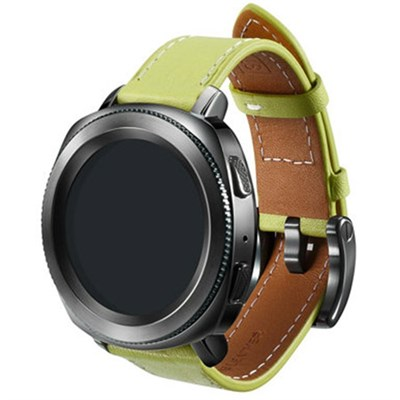 Gear Sport Classic Leather Band (20mm) - Olive Green - GPR600BREEBAE
