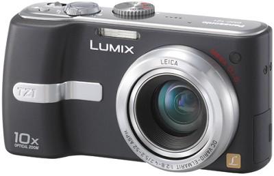 DMC-TZ1K (Black) Lumix 5 mega-pixel Digital Camera (Refurbished)