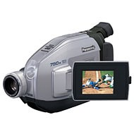 PVL-454 VHS-C Camcorder, 20x Optical/750x Digital Zoom, Color Viewfinder