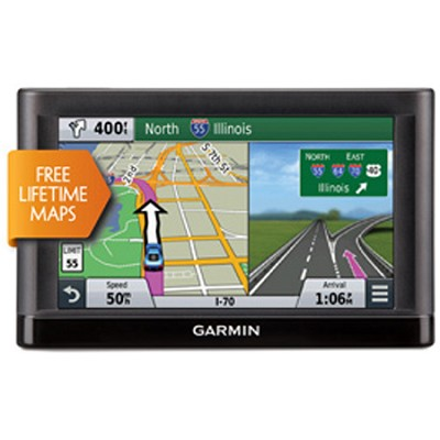 nuvi 66LM GPS Navigation System with Lifetime Maps - 6` Display
