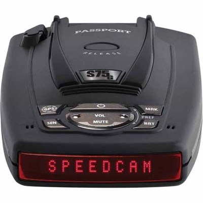 Passport S75g Radar Detector With GPS with Auto Lockout