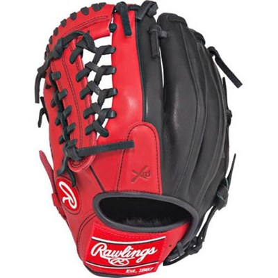 Gamer XLE 2016 Limited Edition Baseball Glove - Red/Black, Left Hand Throw
