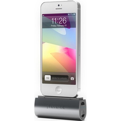 PS-MICRO2-A Flex Pocket Charger for iPhone 4 and 4S (Black)