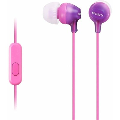 EX Series Earbud Headset for Android in Violet - MDR-EX15AP/V