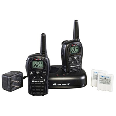 22-Channel GMRS with 24 Mile Range - LXT500VP3