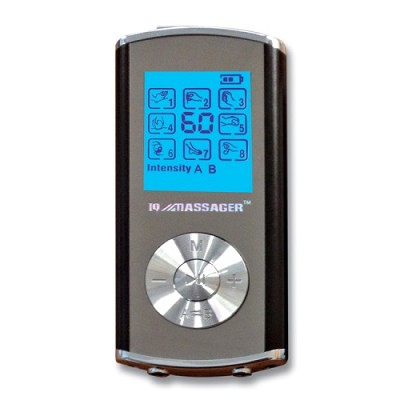 Pro IVS 8 Modes 2-Person Digital TENS Stimulator in Black
