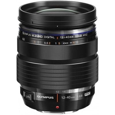 M. Zuiko Digital ED 12-40mm f2.8 PRO Lens - EZ-M1240(U)BLK - OPEN BOX