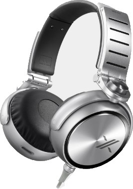 MDRX10 `The X` Headphone with 50mm Diaphragms (Black)