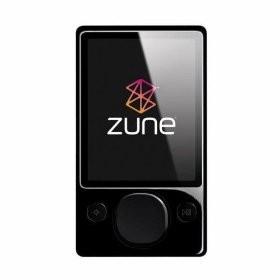 Zune 120 GB Digital Media MP3 Player (Black)