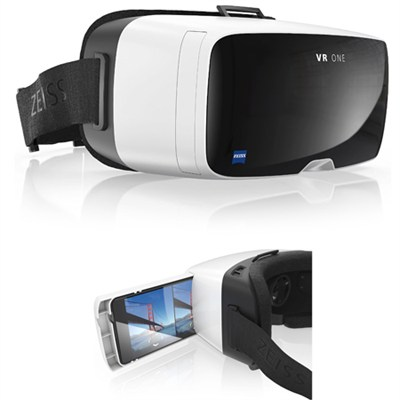 VR ONE Virtual Reality Headset for Smartphones - Samsung Galaxy S5 Tray Bundle