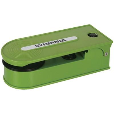 STT008USB Mini Turntable Record Player with USB Encoding - Green