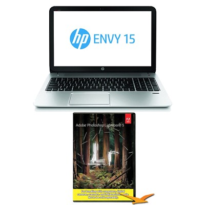Envy 15.6` 15-j175nr Notebook PC AMD Quad-Core - Photoshop Lightroom Bundle