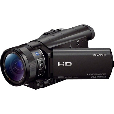 HDR-CX900/B HD Camcorder with 1` Sensor