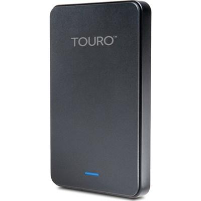 Touro Mobile MX3 1TB USB 3.0 External Hard Drive Black - Factory Refurbished