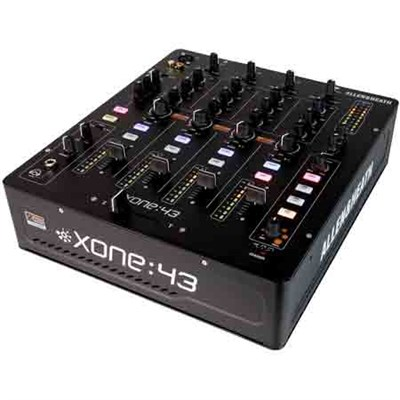 High Performance 4 + 1 Channel Analog DJ Mixer - XONE:43