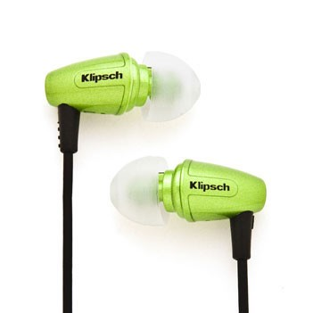 Image S3 - headphones - In-ear, Binaural - Green metallic