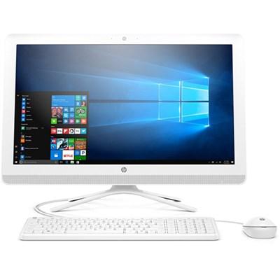 23` All-in-One PC, Pentium J4205, 8GB RAM, 1TB HDD, Windows 10 (24-g216, White)