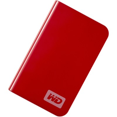 My Passport Essential Portable 160GB Real Red External Hard Drive (WDMER1600TN)