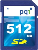 512MB Secure Digital {SD} Memory Card