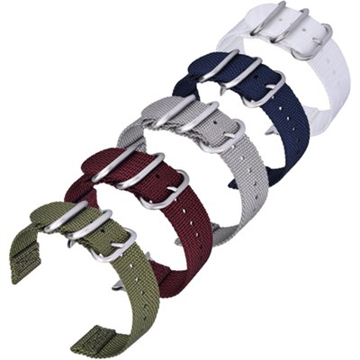 5pc Woven Nylon Replacement Straps for Samsung Smartwatch - 5 Colors - 5PCSGWB