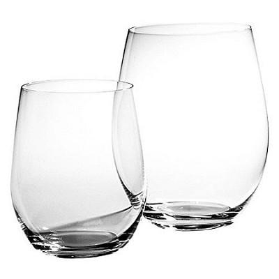 'O' Mixed Cabernet/ViognierTumbler - Set of 6 Plus 2 Bonus Glasses