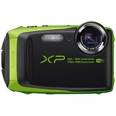 FinePix XP90 16 MP Waterproof Digital Camera w/ 3` LCD - Green Refurbished