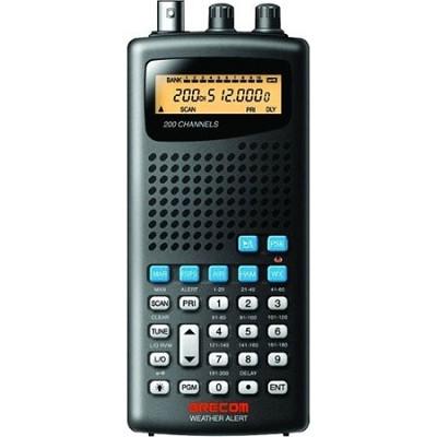 Psr100 200-channel Handheld Analog Scanner