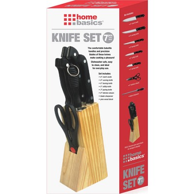 7-Piece Knife Set with Full Tang KS10875