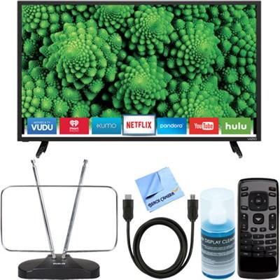 D32-D1 D-Series 32` Full Array LED Smart TV + HDTV Antenna & TV Accessory Bundle