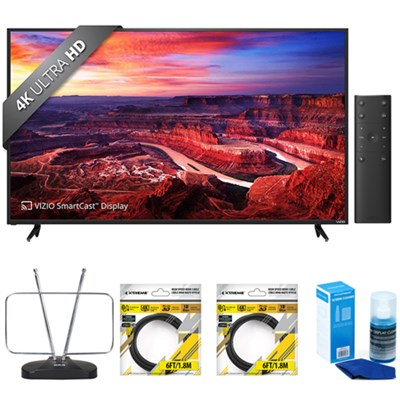 E55-E2 E-Series 55` Ultra HD Home Theater Display with Accessories Bundle