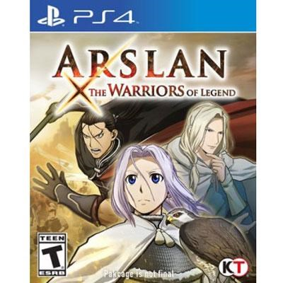 Arslan Warriors of Legend PS4