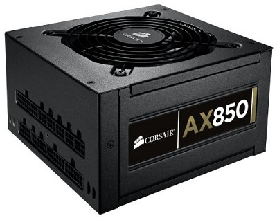 Professional Series Gold AX850 High Performance 850W Power Supply