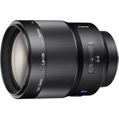 SAL135F18Z - Carl Zeiss Sonnar T 135mm f/1.8 Telephoto Lens