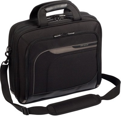 Mobile Elite Laptop Bag in Black for 15.4` Laptop - TBT045US