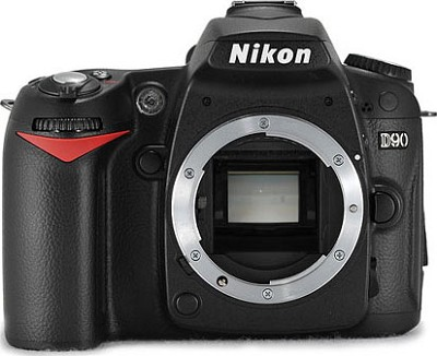 D90 DX-Format DSLR Camera Body Refurbished
