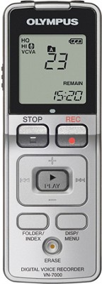 VN-7000 Digital Voice Recorder (Silver) REFURBISHED
