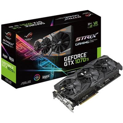 GeForce GTX 1070 Ti 8GB GDDR5 Advanced Edition VR Ready Graphics Card
