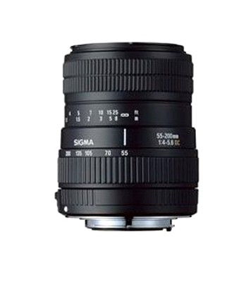 55-200mm f/4-5.6 DC Zoom Lens for Pentax Digital SLR Cameras