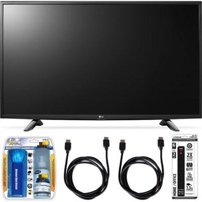 49LH5700 49-Inch Full HD Smart LED TV Accessory Bundle