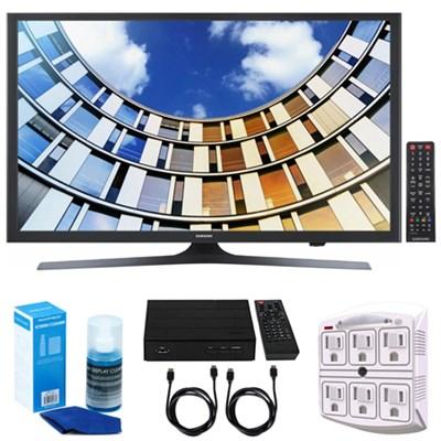UN49M5300- 49-Inch Full HD Smart LED TV w/ Tuner Bundle